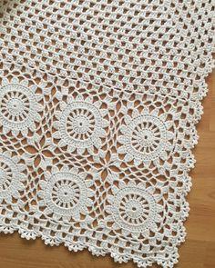 Crochet Wool, Crochet Quilt, Crochet Mandala, Crochet Motif, Diy Crochet, Vintage Crochet, Crochet Shawl, Crochet Patterns, Dress Patterns