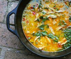 Paleo Southwestern Buffalo Chicken Soup #DIY