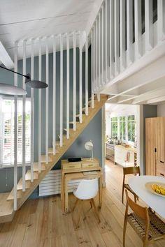 week end garde corps en bois escaliers mezzanine et chambres. Black Bedroom Furniture Sets. Home Design Ideas
