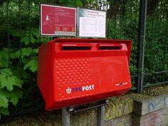 Dutch Post box PTT Post/ TPG Post before the orange TNT post takeover