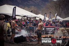 Have you been over the fire before?  Sign up for a race and better yourself! #SpartanRace #Motivation #Fitness #Exercise