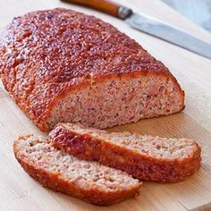 An Amish homemaker typically has a pretty ready supply of meats on hand and they know how to stretch it's use. In most Amish settlements, the meats are your typical chicken and beef. Amish Ham Loaf Recipe, Amish Recipes, Meatloaf Recipes, Pork Recipes, Cooking Recipes, Ham Balls, Pennsylvania Dutch Recipes, My Burger, Pork Ham