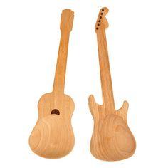 Cucharas para ensalada Guitar de Maiden. | Galería de fotos 3 de 11 | AD MX