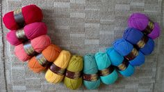 Stylecraft special dk rainbow pack. 12 x 100g - pinned by pin4etsy.com