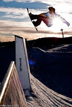 snowboarding sunshine