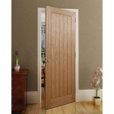 Lewes Oak Veneer Interior Door - DoorsWorld