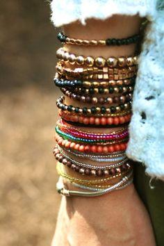 bracelets. (:
