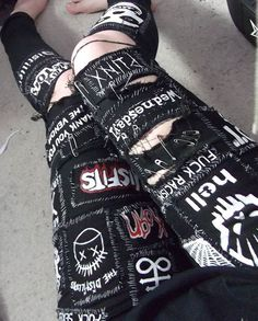 updated pic because i've added way more patches since my last photo of them…