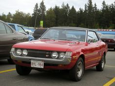 1972 Toyota Celica #cars #coches #carros