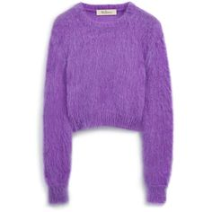 Mulberry Melody Jumper (36.240 RUB) ❤ liked on Polyvore featuring tops, sweaters, cassis, double layer top, loose fitting tops, jumpers sweaters, purple top and cut loose tops