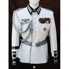 WW2 German Wehrmacht Heer (Army) White Wool GD Waffenrock