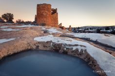 Hovenweep National Monument, located between Cortez, CO, and Blanding, UT. Photo by Larry Lindahl for his upcoming book with Greg McNamee, Ancient Southwest.
