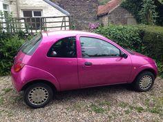 Pink Ford KA