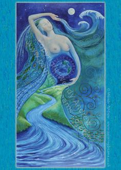 Born of Water   Artist Wendy Andrew