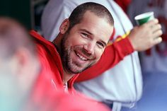 """""""We just watched the biggest game of the season, and we had three kids in their young 20s shove it in their [expletive]. Huge nuts. Not scared at all. It was awesome to watch. Wacha has made 15 starts. Not scared. Carlos comes in. Not scared. Rosey. Not scared."""" -Chris Carpenter on game #4 of the NLDS 10-07-13  ...Absolutely <3 Carpenter...he tells it exactly the way it is!!"""