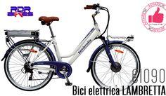 Bici Elettrica LAMBRETTA Da RDR BIKES http://affariok.blogspot.it/2016/06/bici-elettrica-lambretta-da-rdr-bikes.html