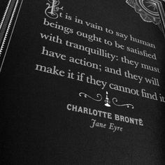 Quotes From the Classic: Jane Eyre By Charlotte Bronte
