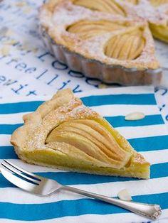 Pradobroty: Hruškový koláč s mandlovou náplní Cake Art, Food Art, Tart, Goodies, Food And Drink, Pie, Baking, Ethnic Recipes, Sweet