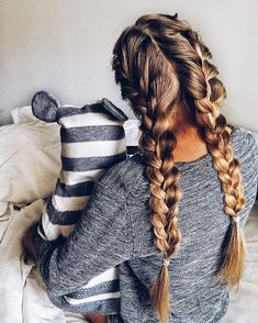 52 Trendy Chic Braided Hairstyle Ideas You Should Try - braid hairstyle #braids #hairstyles