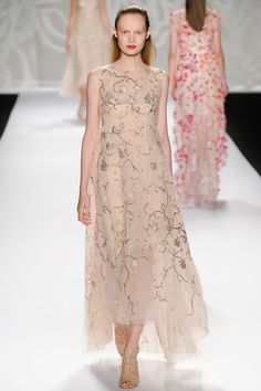 Fab Frock Friday | Monique Lhuillier Spring 2014 RTW