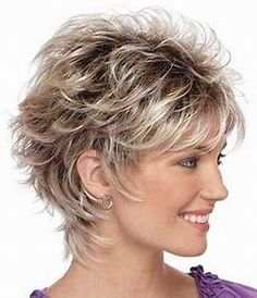 Wonderful Diy Ideas: Wedge Hairstyles Face Shapes women hairstyles over 50 long hair.Women Hairstyles For Fine Hair Round Faces simple hairstyles. Short Shag Hairstyles, Short Layered Haircuts, Wedge Hairstyles, Feathered Hairstyles, Short Hairstyles For Women, Glasses Hairstyles, Wedding Hairstyles, Asymmetrical Hairstyles, Hairstyles 2018