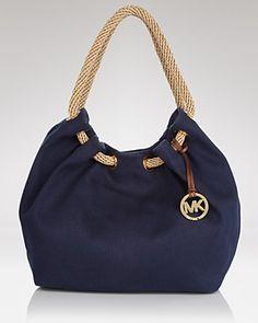 canvas summer hobo from Michael Kors CLICK VISIT link above for more info Michael Kors Hobo, Handbags Michael Kors, Purses And Handbags, Leather Handbags, Denim Tote Bags, Canvas Handbags, Fabric Bags, Cloth Bags, Handmade Bags