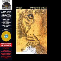 Hurricane Records - Tangerine Dream - Tyger - Ltd. Record Store Day Edn. Lp Vinyl, Vinyl Records, New Music, Music Music, Electronic News, Man Parts, Progressive Rock, Cover Art, New Art