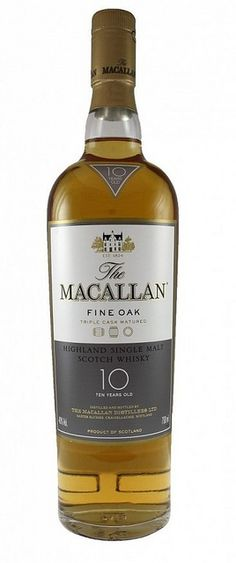 Macallan Fine Oak 10 years Old - this is my 'everyday, bedtime' favorite.