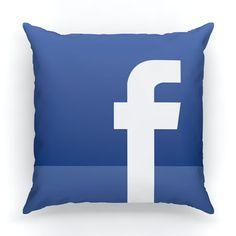 Facebook app pillow