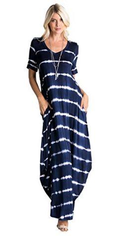 Tabeez Women's Deep V-Neck Short Sleeve Long Maxi Dress w... https://www.amazon.com/dp/B071CMPGGW/ref=cm_sw_r_pi_dp_x_5H.dzb9YYE0AH
