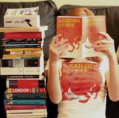 Books and. ...Holden Caulfield!