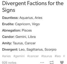 #divergent #zodiac #astrology