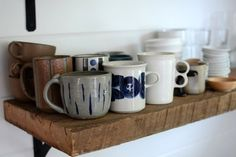 A Tea mug shelf!! Just what I need! (Yes Tea is an important enough noun that it should be capitalized)
