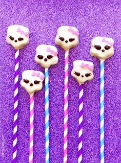 Monster High Inspired DIY Cake Pops Recipe
