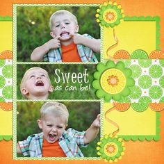Sweet as can be #2 - Scrapbook.com