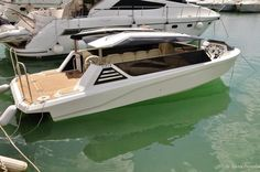 The limo tender by Viper Boats.  http://www.yachtemoceans.com/viper-limo-tender/  #superyachttender #megayachttender #tender #superyachts #megayachts #yachts #yachttender