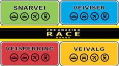 Regler for Amazing Race