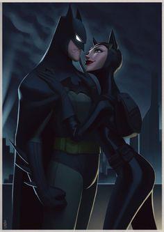Batman & Catwoman - Leandro Franci