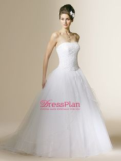 Charming White Lovable Ball Gown in Bubble Skirt