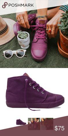 69668b744cde Purple High Top Sneakers. Shop Women s BANGS Purple size 8 ...