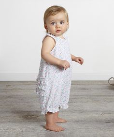 Take a look at this Bouquet Floral Bubble Romper - Infant today!