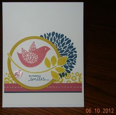 Betsy's Blossoms and Petite Pairs Stamp Sets, Betsy's Blooms Wheel