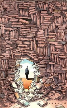 I libri sono l'unico modo per fuggire da tutto e tutti senza fare del male a nessuno.