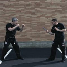 Krav Maga Technique of the Month: Defending a Straight Stab