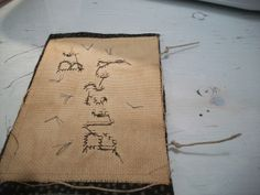 Our Pioneer Homestead: Free Ornament Patterns! Christmas Workshop 5