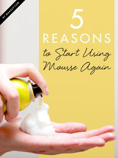 If you've stopped using mousse because it gives you flashbacks of the '80s, you may want to rethink your decision to nix this hair product. Did you know it can protect your hair from heat, or that it is great for holding curls? Find out what else you're missing!