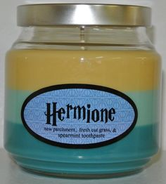 Hermione Granger Scented Candle Inspired by the by Fandlemonium, $25.00