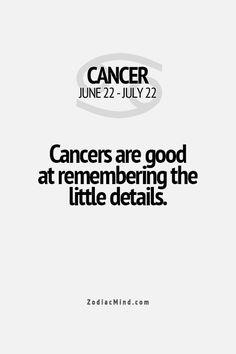 Cancer Zodiac Fact ★