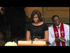 Michelle Obama Emotional Speech Maya Angelou Memorial VIDEO Wait Chapel at Wake Forest University