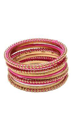 arm candy bracelets!